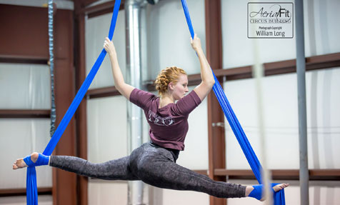 Aerial Silks Class schedule coming soon