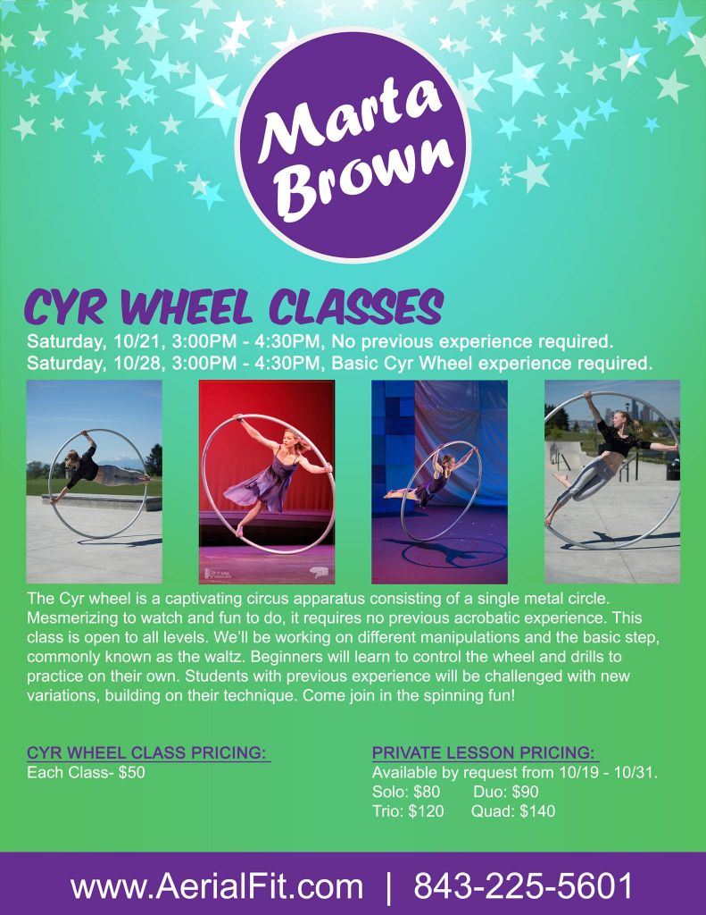 Cyr Wheel Classes