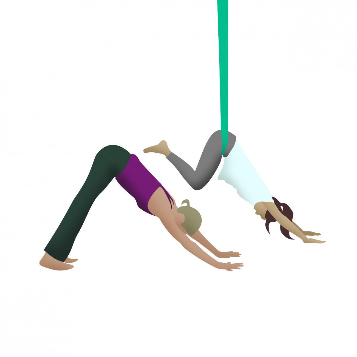 6d6a28ffb Aerial Yoga or Aerial Silks