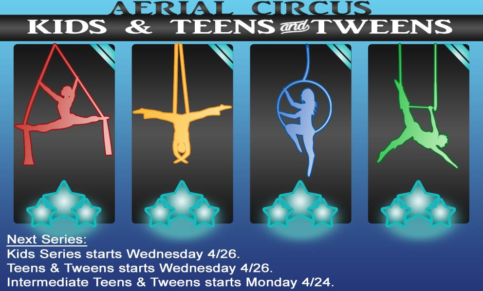 Aerial Teen and Kid Classes