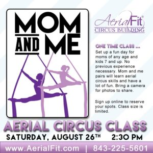 Mom and Me Aerial Class