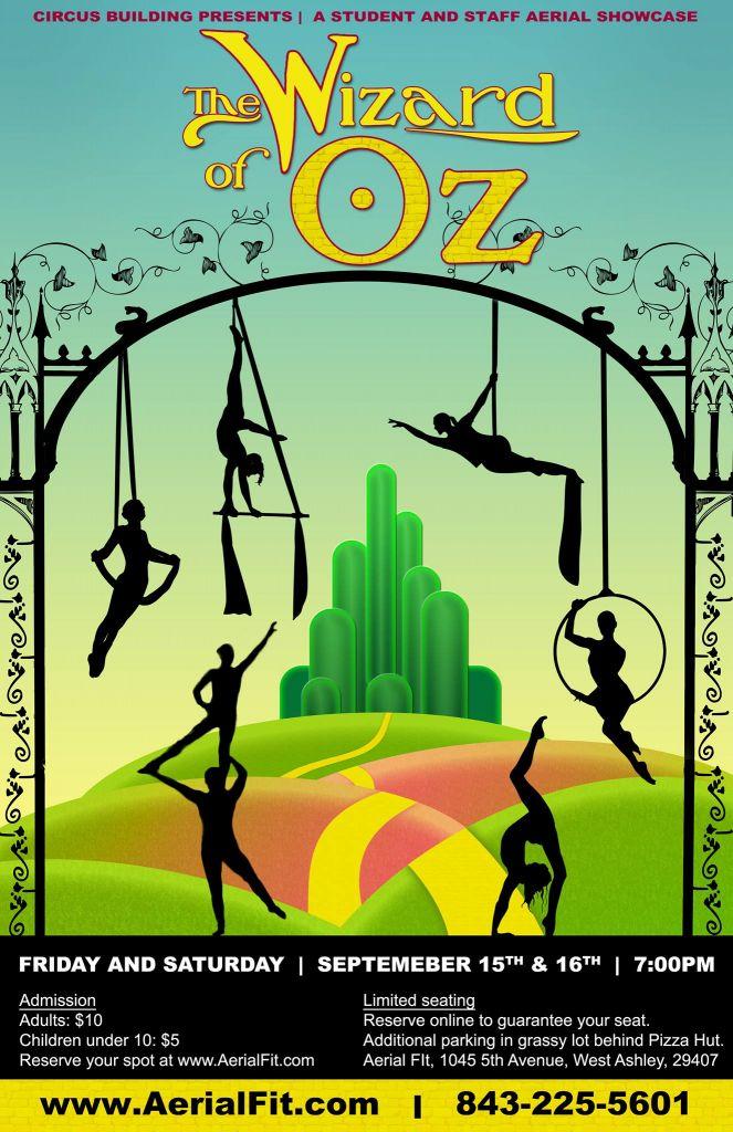 Wizard of Oz showcase