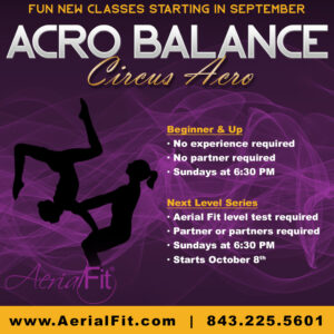 Acro Classes at Aerial FIt