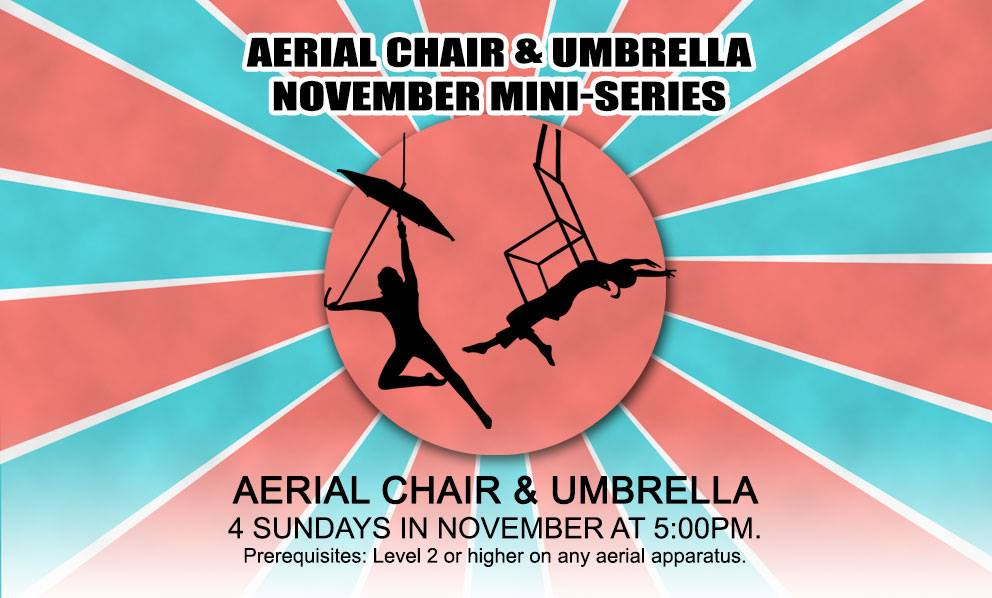 Aerial Chair and Umbrella