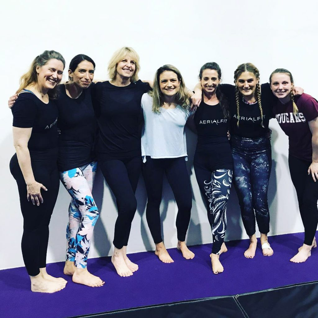 Aerial Fit Student Presentations